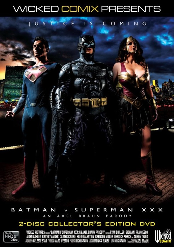 Porn parody of Batman and Superman